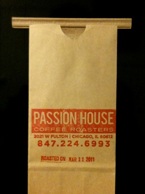Passion House Coffee Roasters Chicago at Wormhole Coffee
