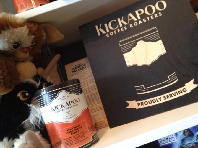 Kickapoo Coffee At The Wormhole Chicago