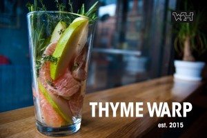 Thyme Warp: Wormhole Signature Drink Summer 2013