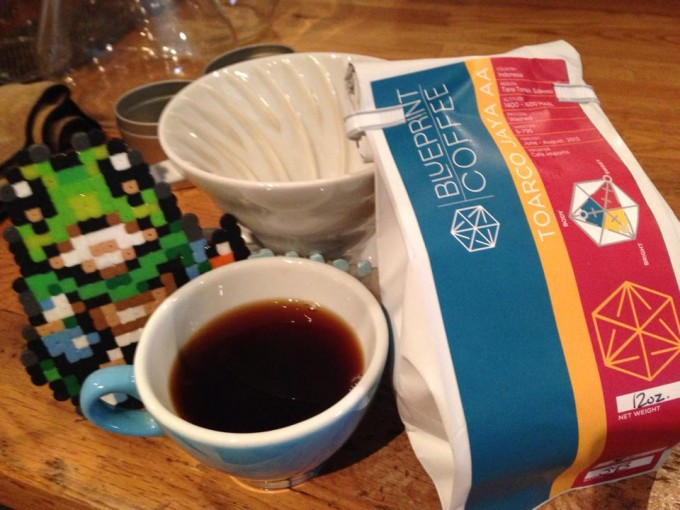 Smart looking coffee blueprint coffee roasters the wormhole coffee blueprint on our brew bar malvernweather Choice Image